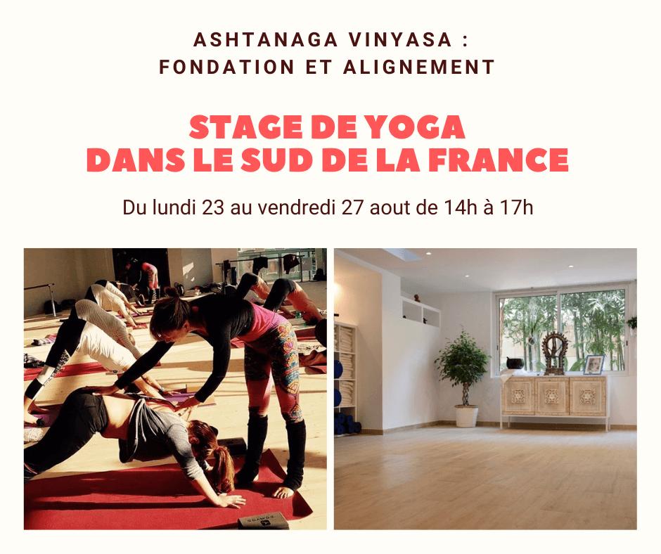 Marie Camille Yoga - stage de yoga à Vallauris - sud de la France (Brest - Morlaix)